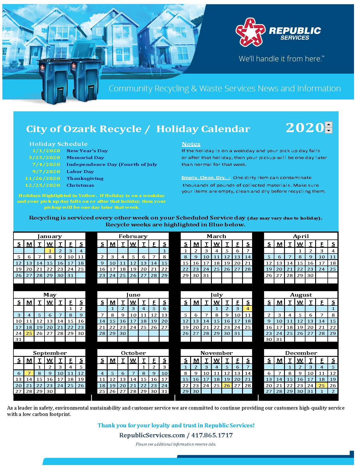 City of Ozark Recycle Calendar 2020 (1)_Page_1