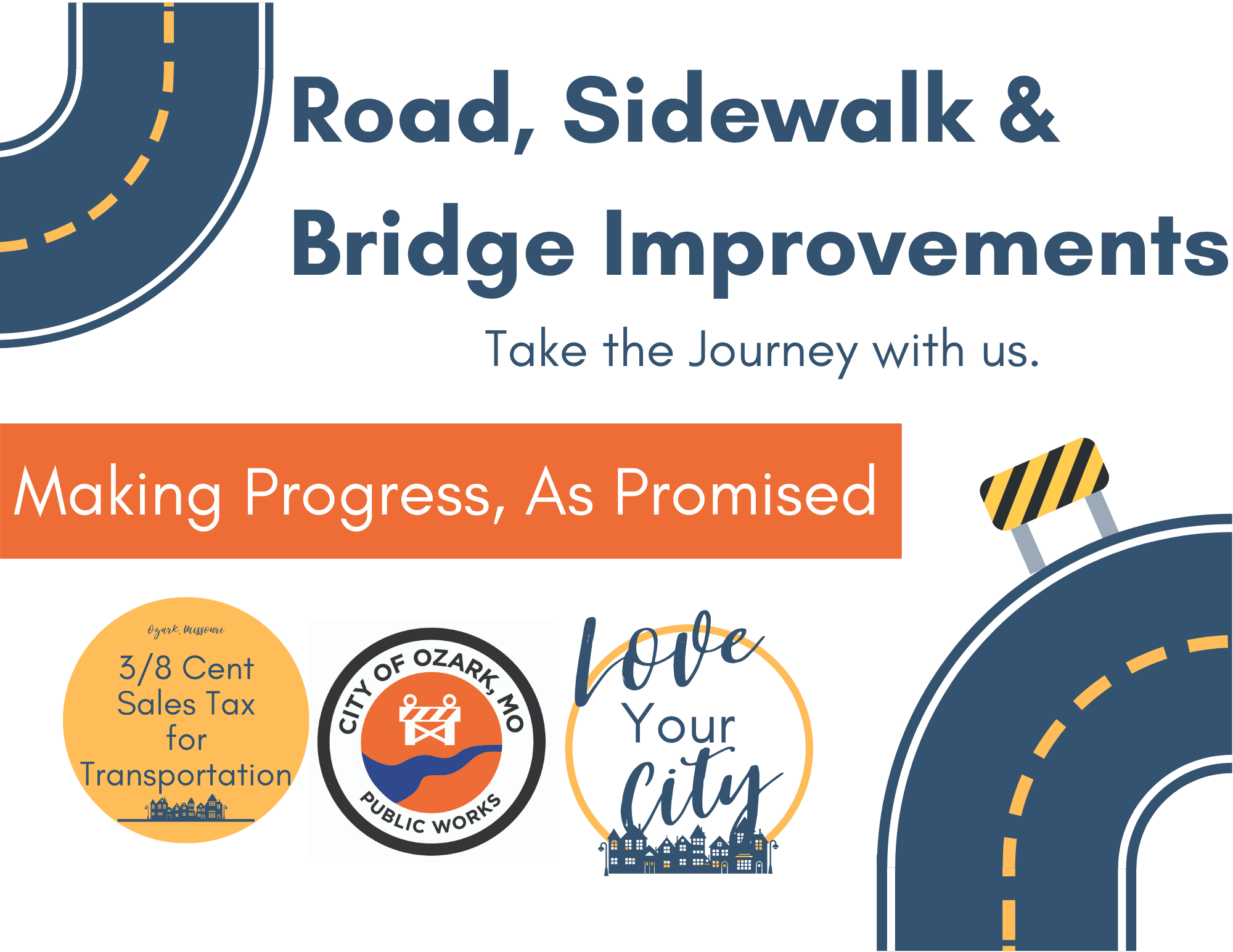 Road, Sidewalk  Bridge Improvements