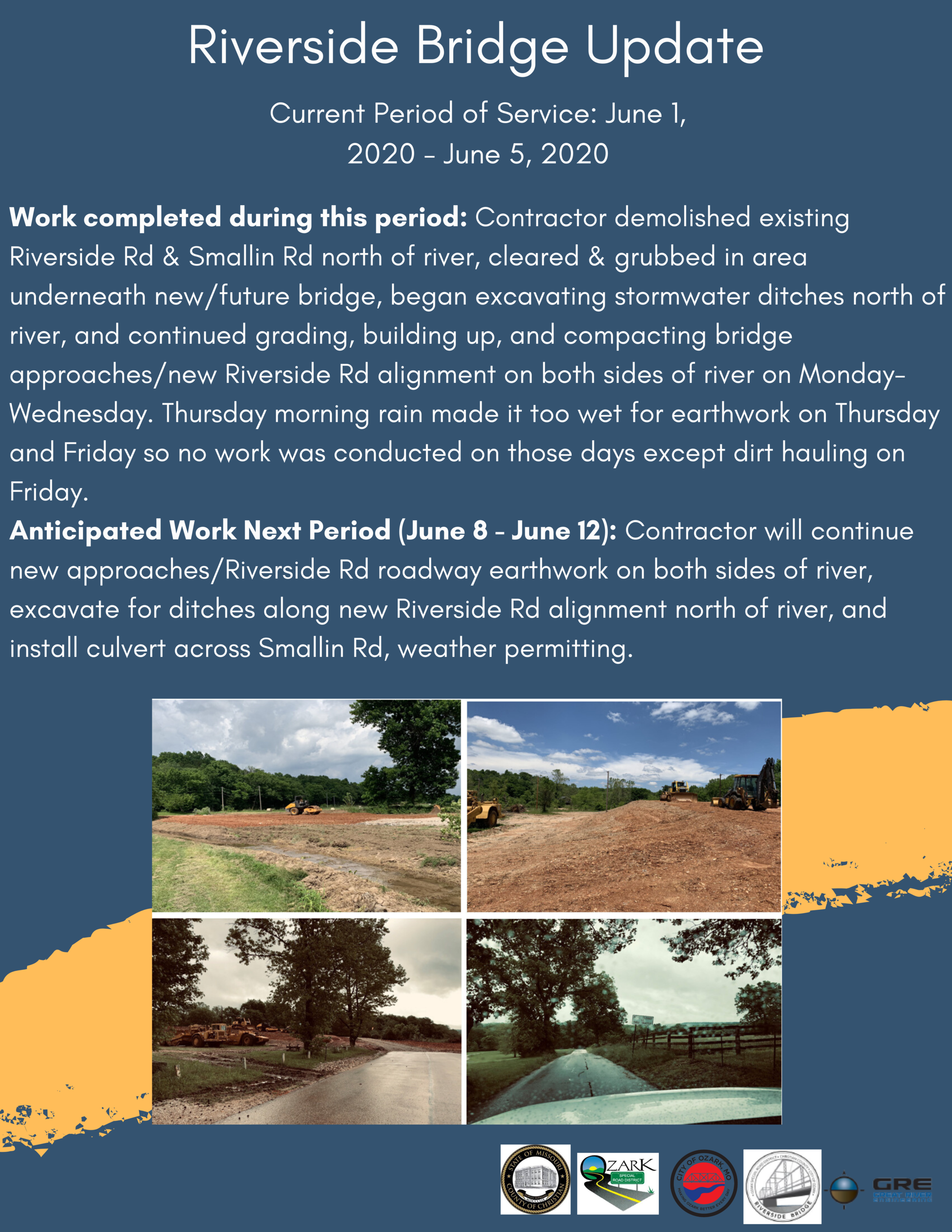 Copy of Copy of Riverside Inn Bridge Update June 1